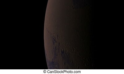 orbite, mars