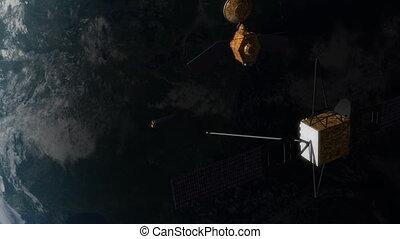 orbite, satellites