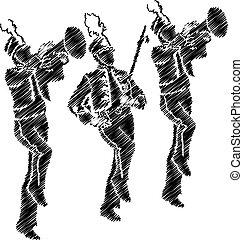 orchestre, illustration