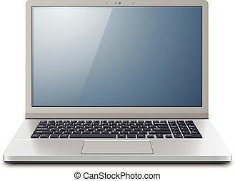 ordinateur portatif, 3d