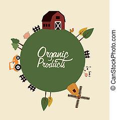 organique, étiquette produit