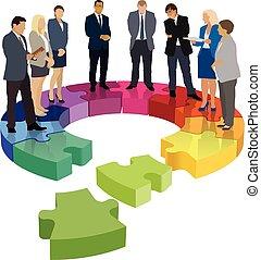 organisationnel, endommagé, structure