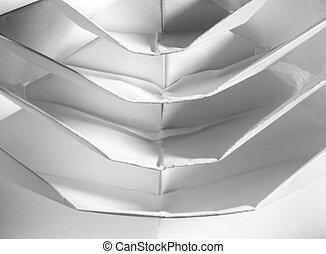origami, résumé, texture
