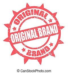 original, brand-stamp