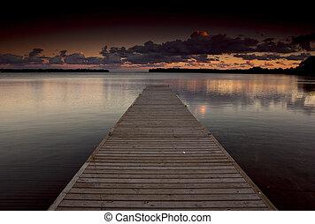 orillia, dock