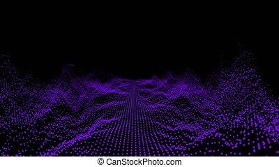 """oscillation, musique, résumé, technologie, surface"""", """"futuristic, numérique, forme onde, audio, vague, son, visualisation"""