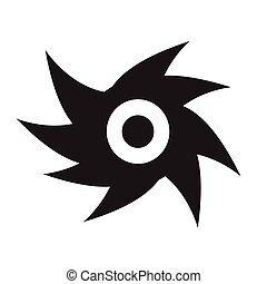 ouragan, idesign, illustration, icône