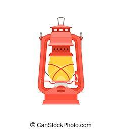 ouragan, lanterne