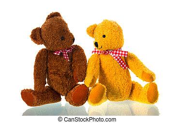 ours, jouets bourrés