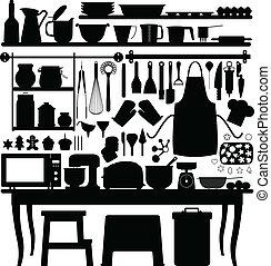 outillage, cuisson, patisserie, cuisine