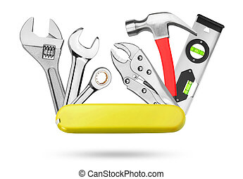 outils, beaucoup