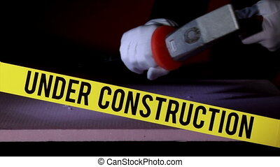 outils, construction, vitesse, sous