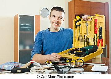 outils, fonctionnement, homme