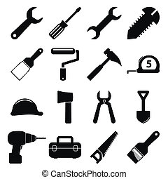 outils, icônes