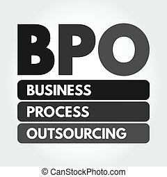 outsourcing, bpo, business, acronyme, -, processus