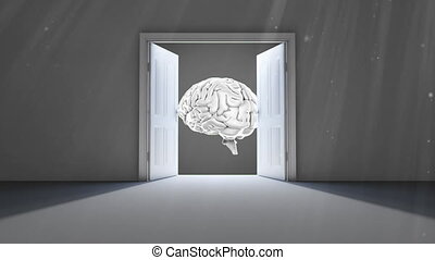 ouverture, portes, cerveau