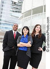 ouvriers, bureau affaires
