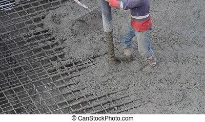 ouvriers, construction, fonctionnement