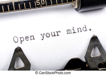 ouvrir esprit, ton