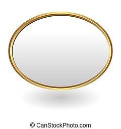 ovale, plaque