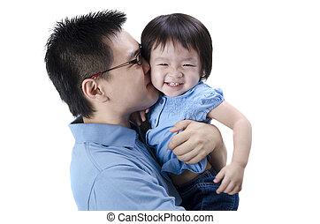 père, asiatique