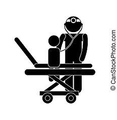 pédiatre, conception
