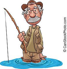 pêcheur, vieux