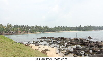 pêcheurs, sri lanka, échasses