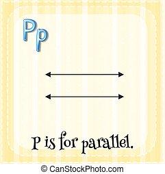 p, lettre