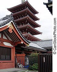 pagode, japaneese