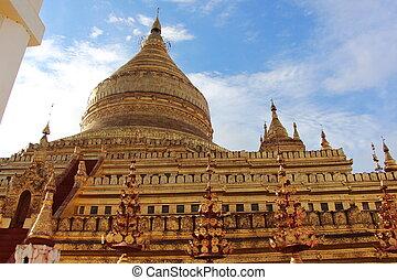 pagode, shwezigon