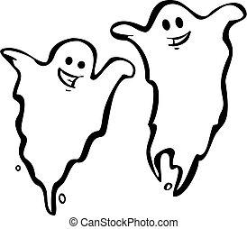paire, fantômes