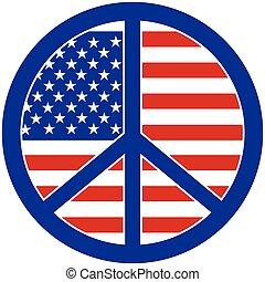 paix, amérique