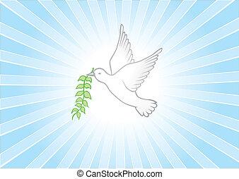paix, fond