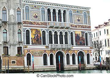 palazzo, barbarigo, italy venice