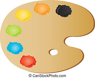 palette, painter's