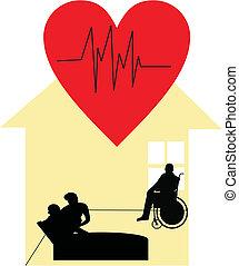 palliative, soin maison