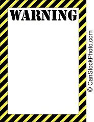 panneau avertissement