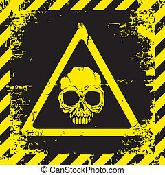 panneau avertissement, danger