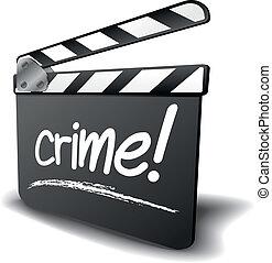 panneau clapet, crime