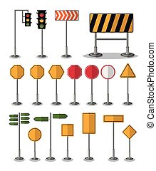 panneaux signalisations, conception