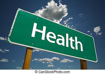 panneaux signalisations, santé