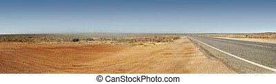 panorama, outback australien, route