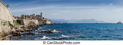 panoramique, antibes, france