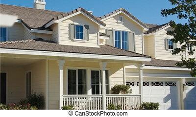 panoramique, maison, vente, maison, signe