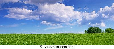 panoramique, paysage