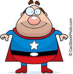 papa, superhero
