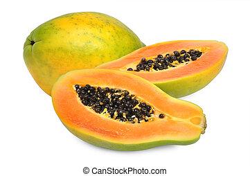 papaye, frais