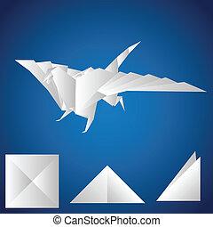 paper., dragon