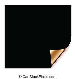 papier, noir